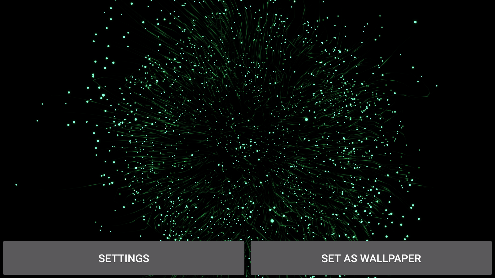 Gyro Particles 3D Live Wallpaper Screenshot 16