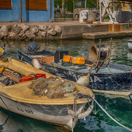 fishing boats by Eseker RI - Transportation Boats
