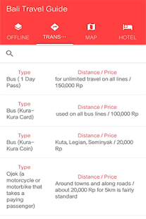 Bali Travel Guide - screenshot