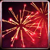 3D-Feuerwerk Gratishintergrund