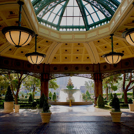 Bellagio by Vishahan Iyer - Buildings & Architecture Architectural Detail ( las vegas, bellagio, lobby, hotel, vegas )