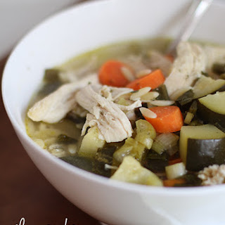 Slow Cooker Spring Chicken Soup