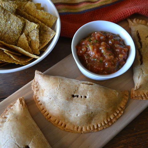 Pinto Bean, Green Olive, and Sweet Potato Turnovers