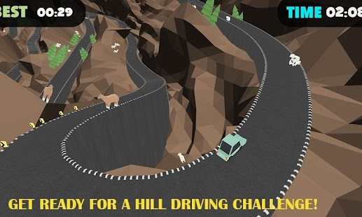 Mountain Hill Climb Rally - screenshot