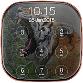 Tiger Keypad Lock Screen APK for Bluestacks