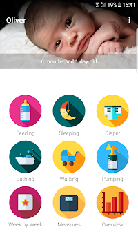 MamaTracker - Baby Growth Log APK screenshot thumbnail 1