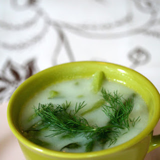 Green Bean Soup with Fresh Dill