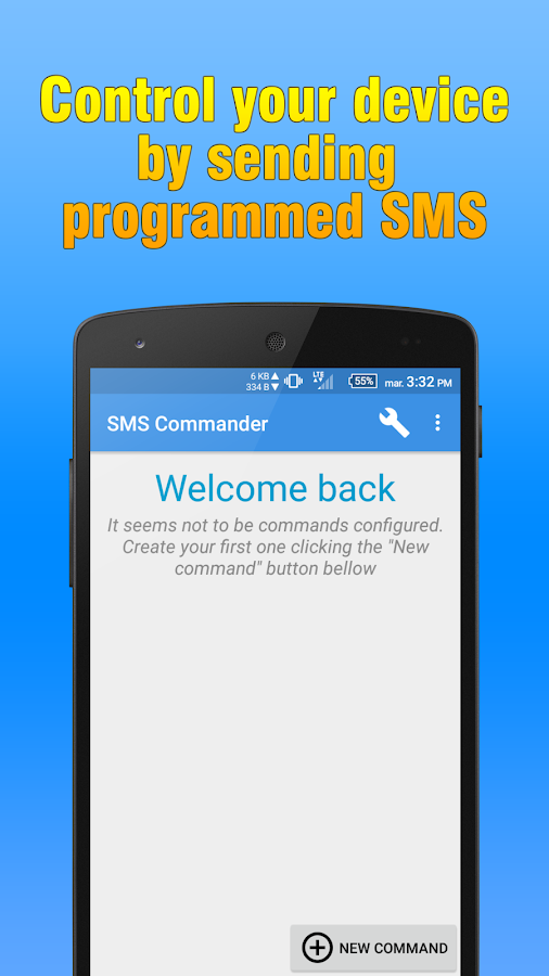 SMS Commander Screenshot 0