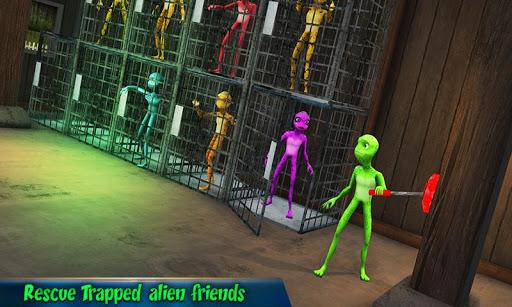 Scary Green Grandpa Alien For PC
