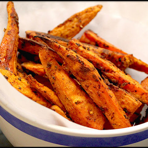 Sweet Potato Chili Fries