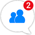 messenger pro lite para sa mga mensahe, text at video chat APK