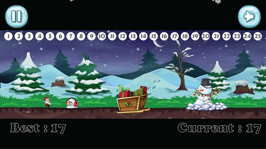 android Santa Christmas Run Screenshot 3