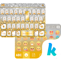 Golden Bow Kika Keyboard Theme For PC (Windows / Mac)