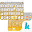 Download Golden Bow Kika Keyboard Theme APK