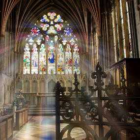 The colour of faith by Natalie Houlding - Buildings & Architecture Other Interior ( enlightenment, faith, cathedral, exeter )