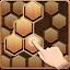 Wood Block Hexagon