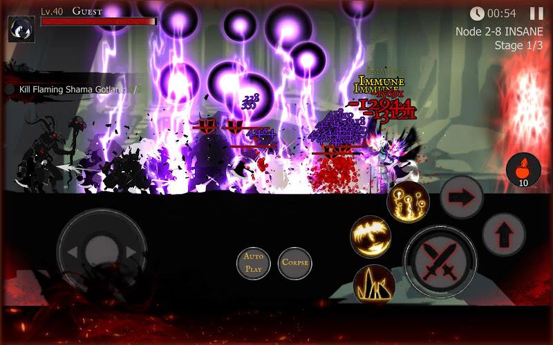 Shadow of Death: Dark Knight  Stickman Fighting Screenshot 14