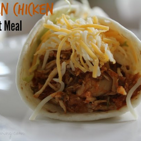 Mexican Chicken - Freezer Crock Pot Meal
