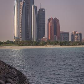 Abu Dhabi by Walid Ahmad - City,  Street & Park  Skylines ( uae, abudhabi, photography, city )