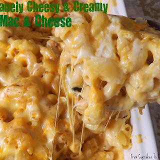 Insanely Cheesy And Creamy Mac & Cheese