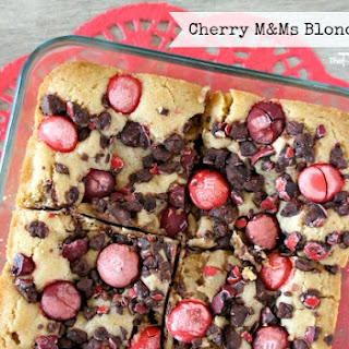 M&Ms Blondie Bars