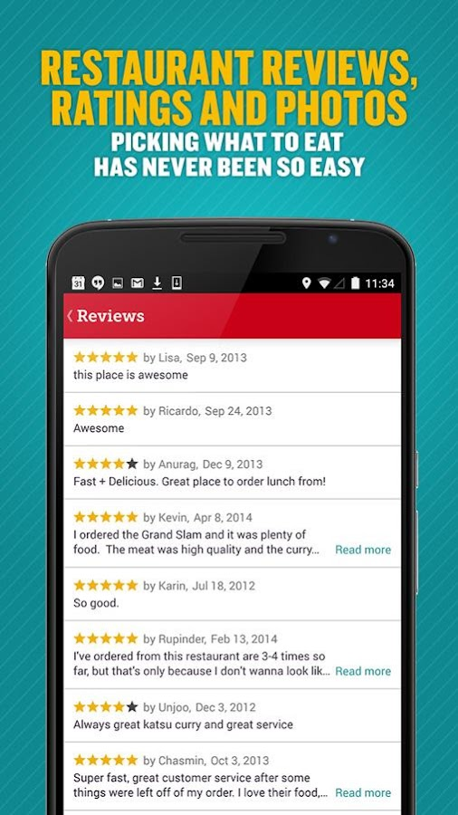 Seamless Food Delivery/Takeout Screenshot 2