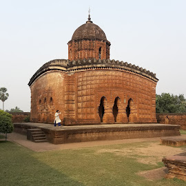 Radhashyam Temple by Anuttam Jana - Buildings & Architecture Architectural Detail ( arani, anindya sudeb.sarkar@gmail.com, sanat )