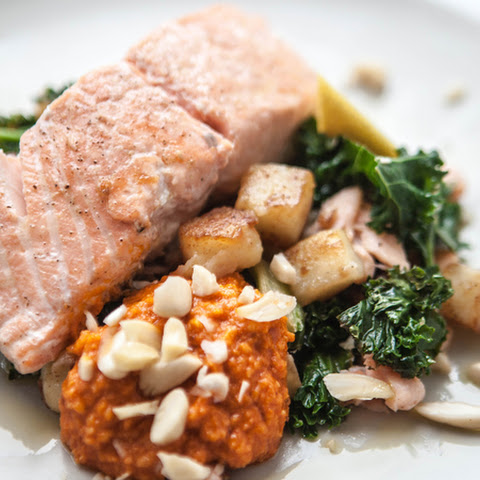 Romesco Salmon