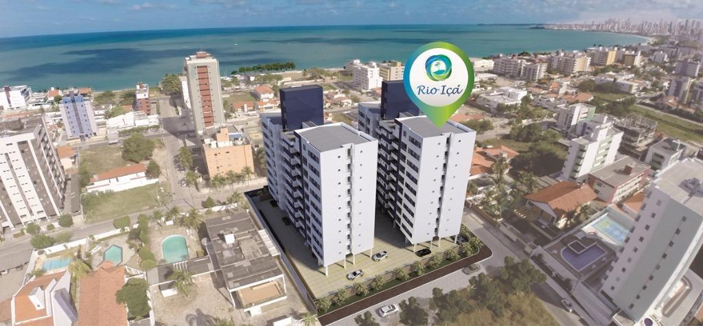 Apartamento residencial à venda, Bessa, João Pessoa - AP3422.
