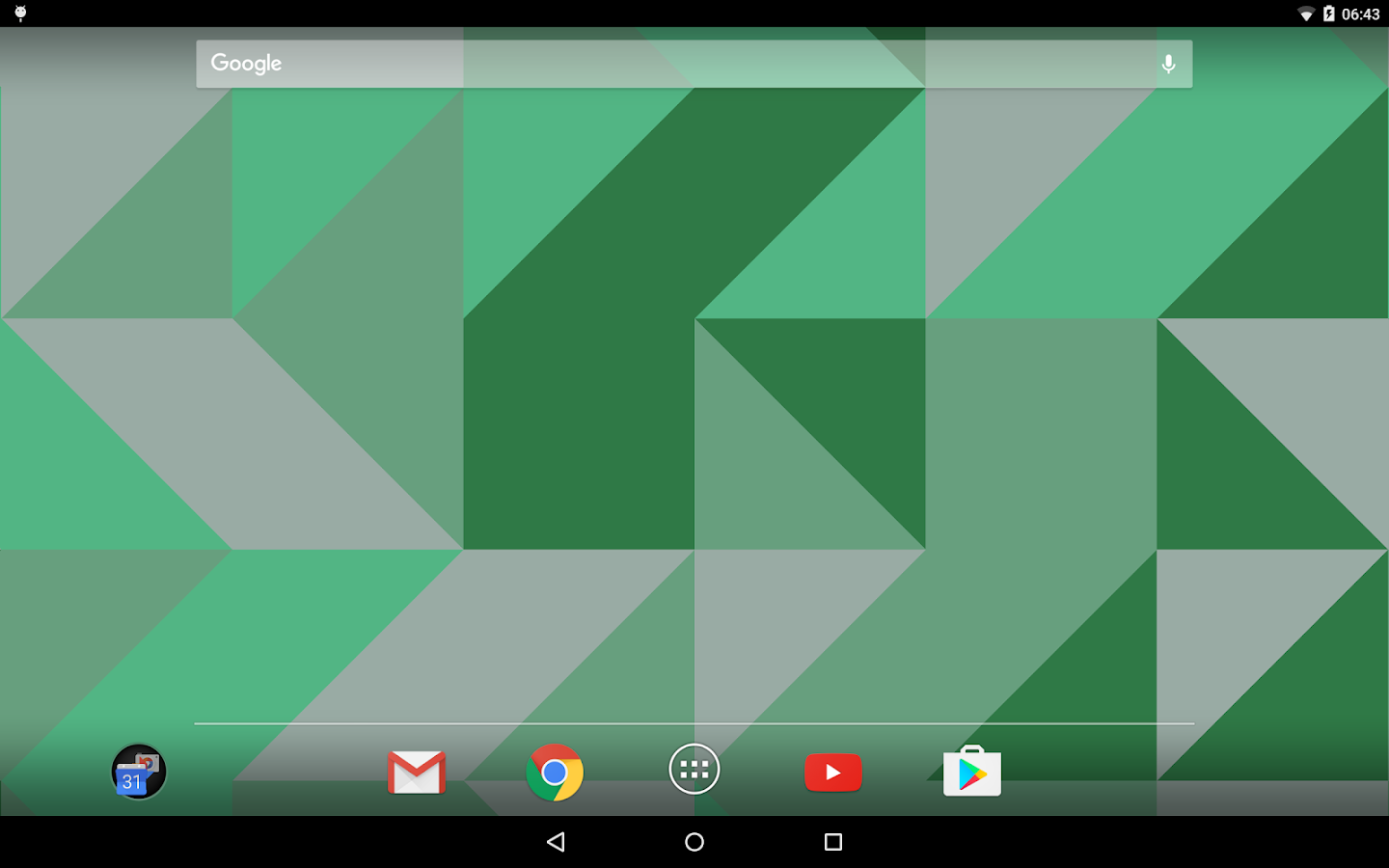 Triangles Live Wallpaper Screenshot 9