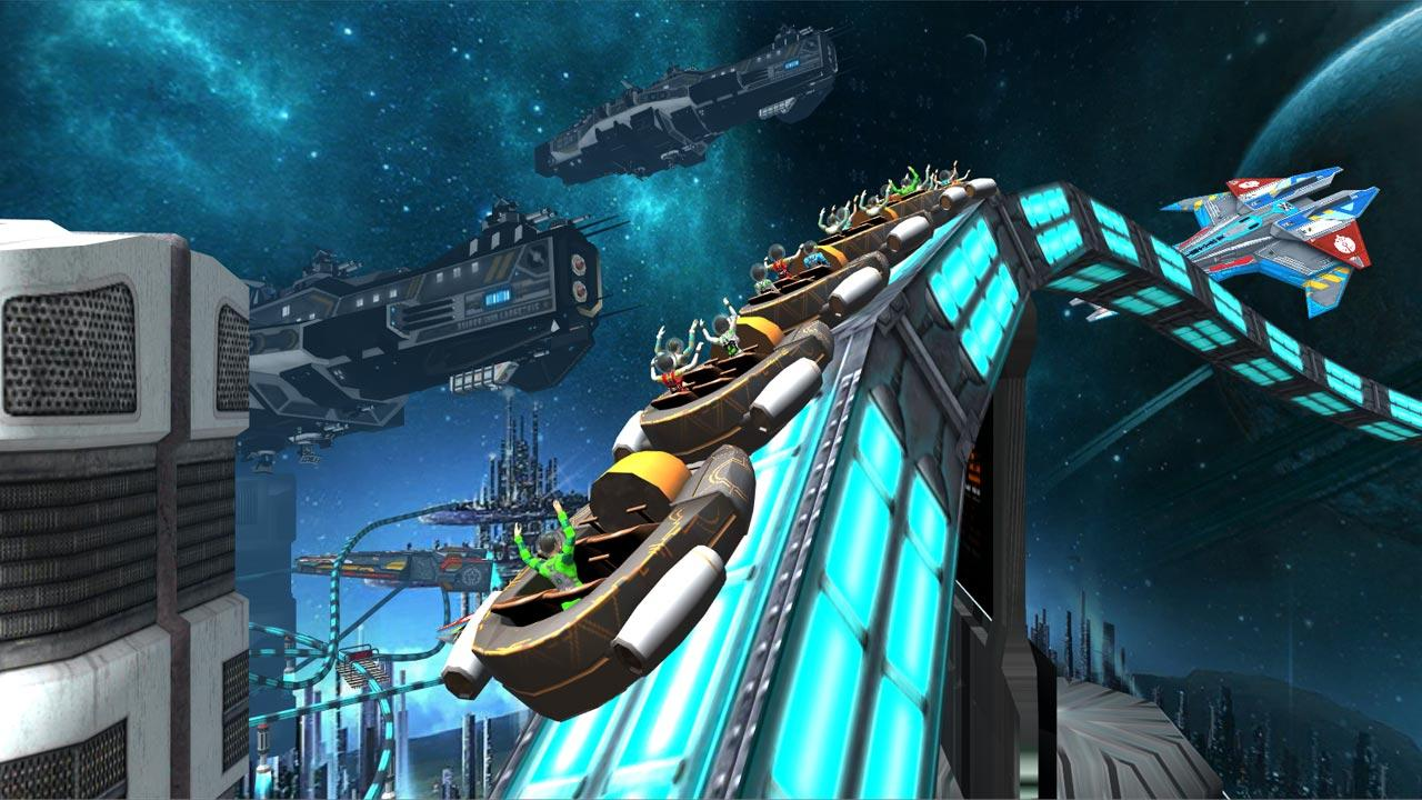 Roller Coaster Simulator Space Screenshot 9