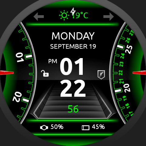 SmartDrive Watch Face Screenshot 8