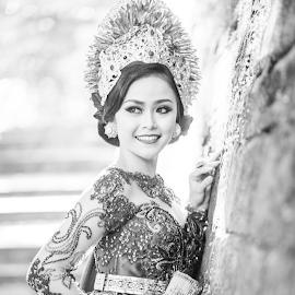 Smile by Shane Cassidy - People Portraits of Women ( kuta, balinese, bali, ubud, female, lady, dance, culture )