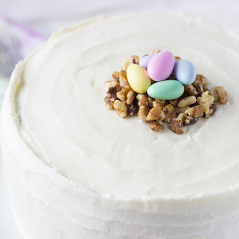 Classic Carrot Cake with Ginger Cream Cheese Frosting