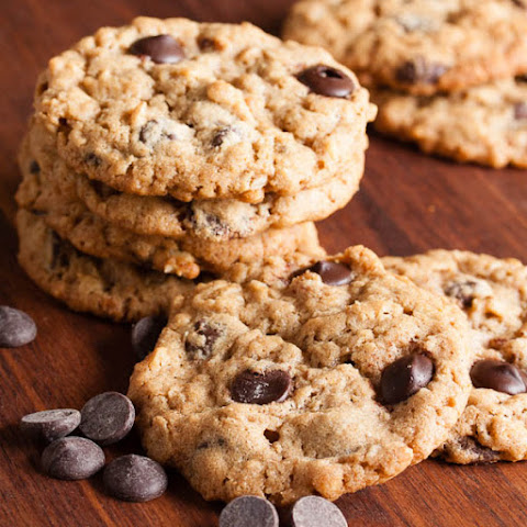 Chocolate Peanut Butter Oatmeal Cookies Recipe | Yummly