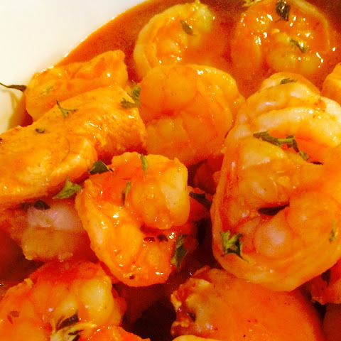 Mardi Gras BBQ Shrimp & Chicken