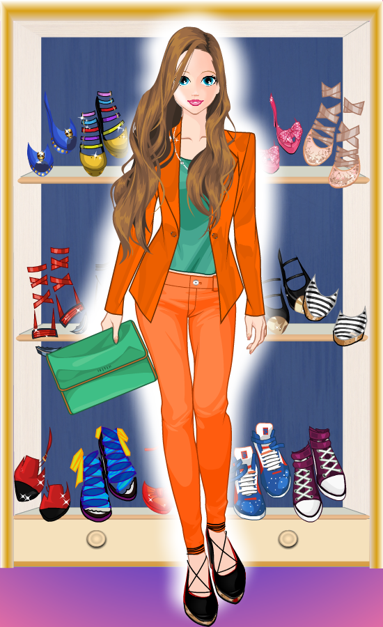Fashion games dress up and makeover