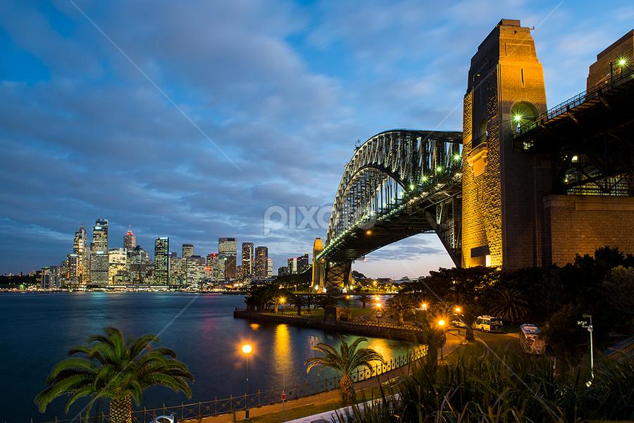 Sydney Harbour Bridge by Hartono Hosea - Buildings & Architecture Bridges & Suspended Structures ( bridge, pwcbridges, sydney )
