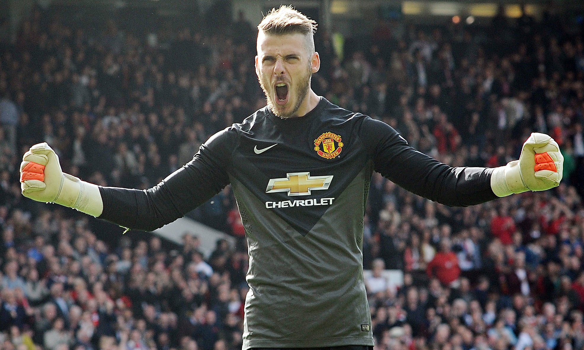 David De Gea wants to make history with Manchester United