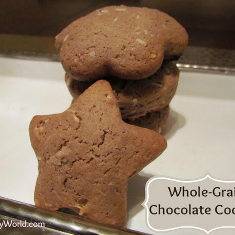 Whole Grain Chocolate Cookies