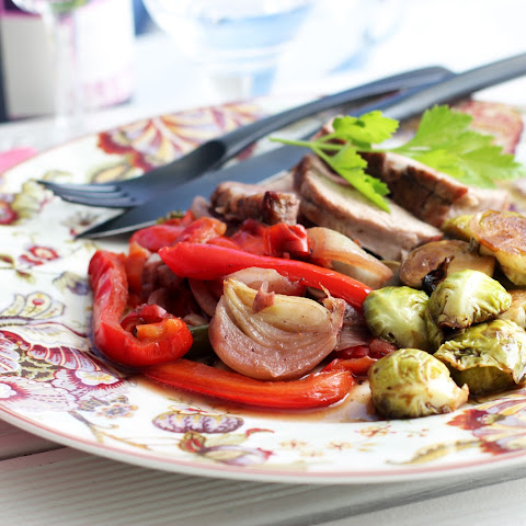 Veal Roast with Peppers