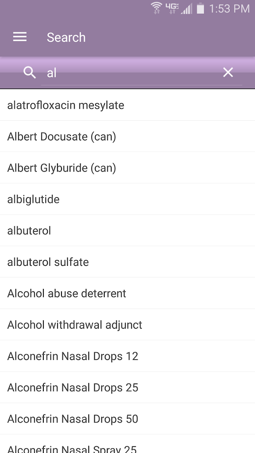Nurse's Drug Handbook Screenshot 0
