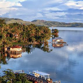 Danau Sentani by Theofilus Saiman - City,  Street & Park  Vistas