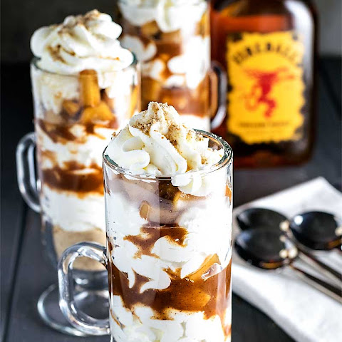 Fireball Apple Parfaits