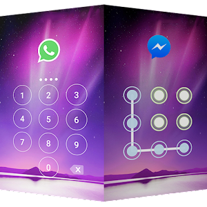 AppLock Theme Aurora Privacy