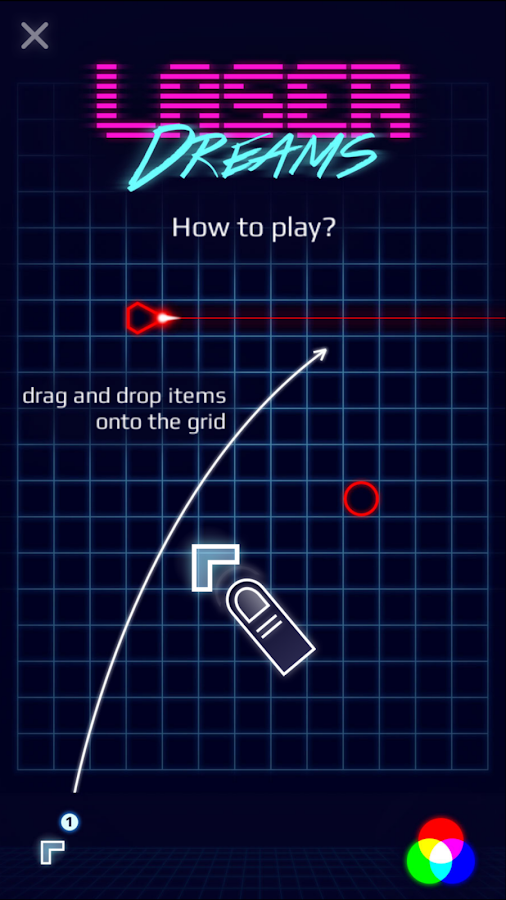 Laser Dreams - Brain Puzzle Screenshot 3