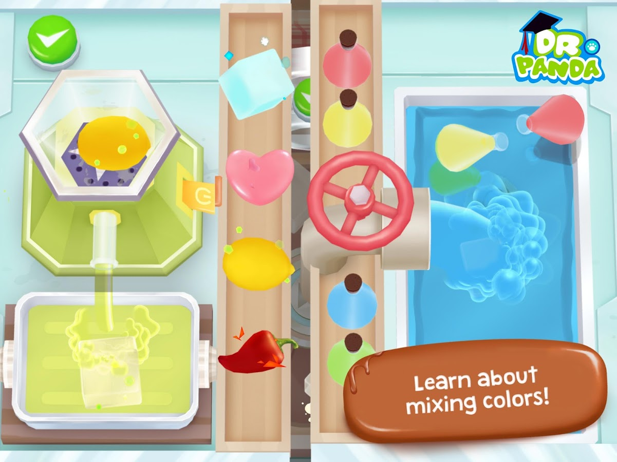 Dr. Panda Candy Factory Screenshot 3