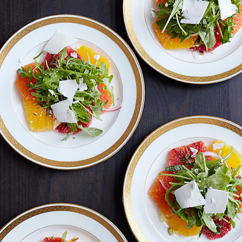 Citrus Salad with Arugula & Ricotta Salata