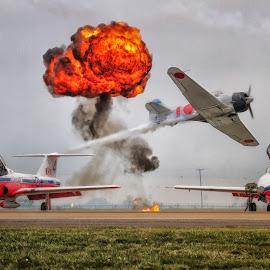 Toro Run by Ron Meyers - Transportation Airplanes