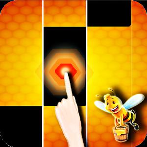 Honey Bee magic piano tiles 🐝🐝🐝 1.0 Icon
